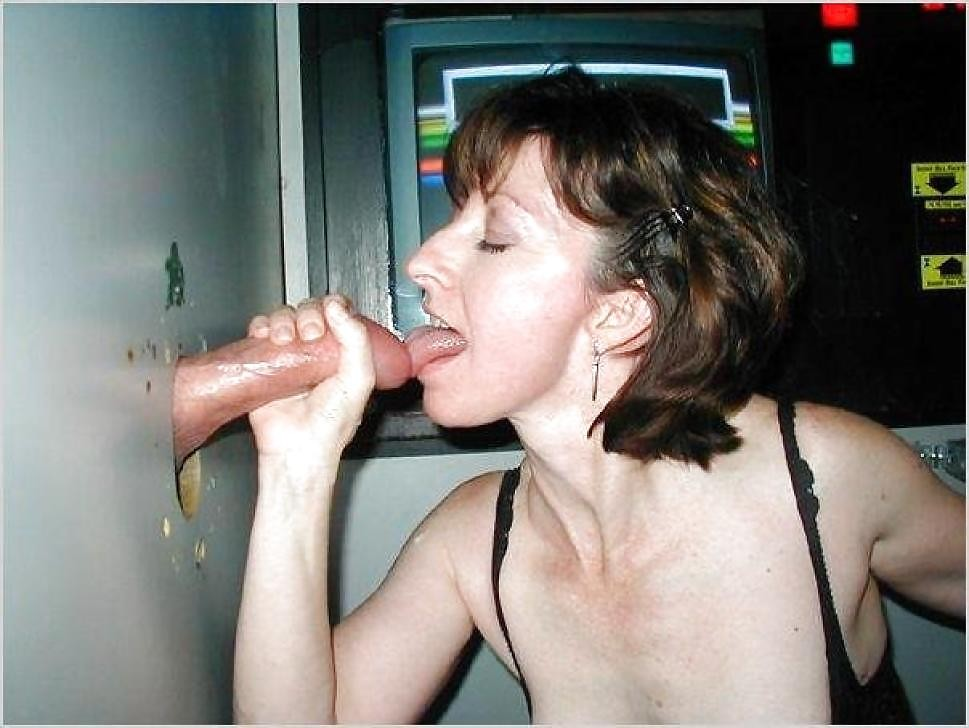 Wife first gloryhole